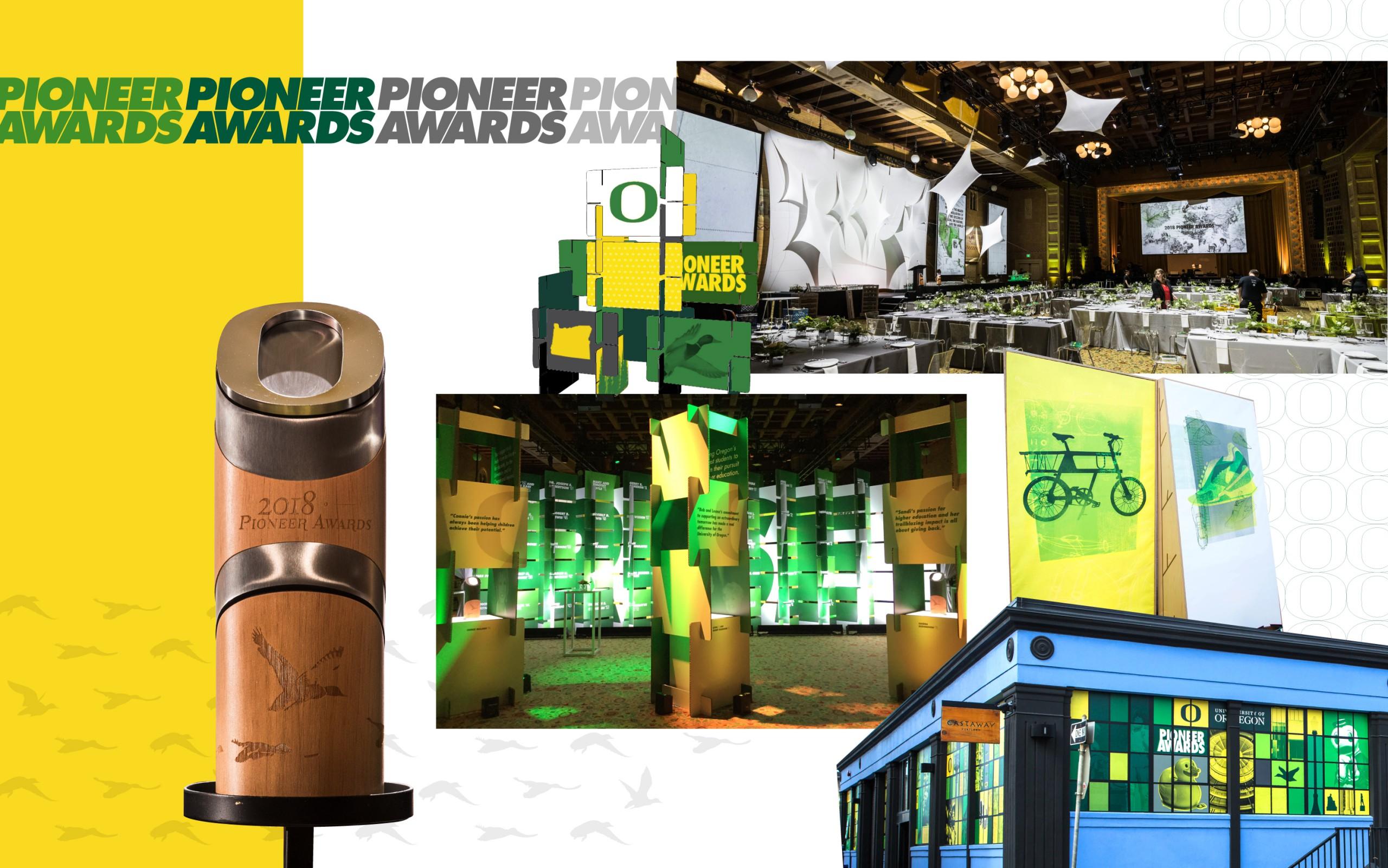 Pioneer Awards Visual Stylese