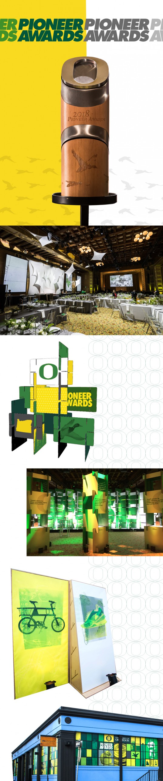 Pioneer Awards Visual Style