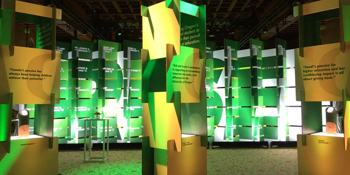 Modular kiosk design for Pioneer Awards